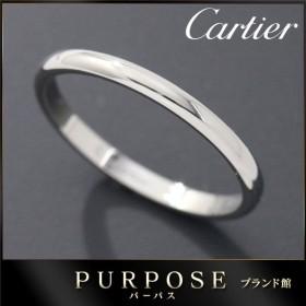 カルティエ Cartier クラシック #56 リング Pt950 幅2mm プラチナ 指輪 【証明書付き】