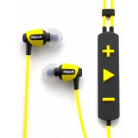 イヤホンKlipsch Image S4i Rugged - Yellow All Weather In-Ear Headphones