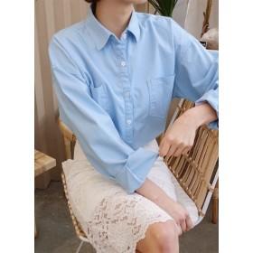 ダブルポケットルーズシャツ・全4色・t52550