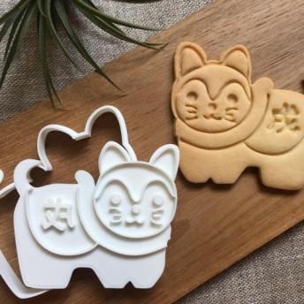 1/11以降発送 狛犬 ☆size8x7cm☆ クッキーカッター・クッキー型