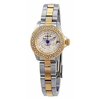 【当店1年保証】インヴィクタInvicta Women's Angel Quartz Watch with Stainless Steel Strap, Two T
