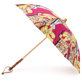 BonBonStore アフリカンバティック長傘 傘・日傘,ソーイング