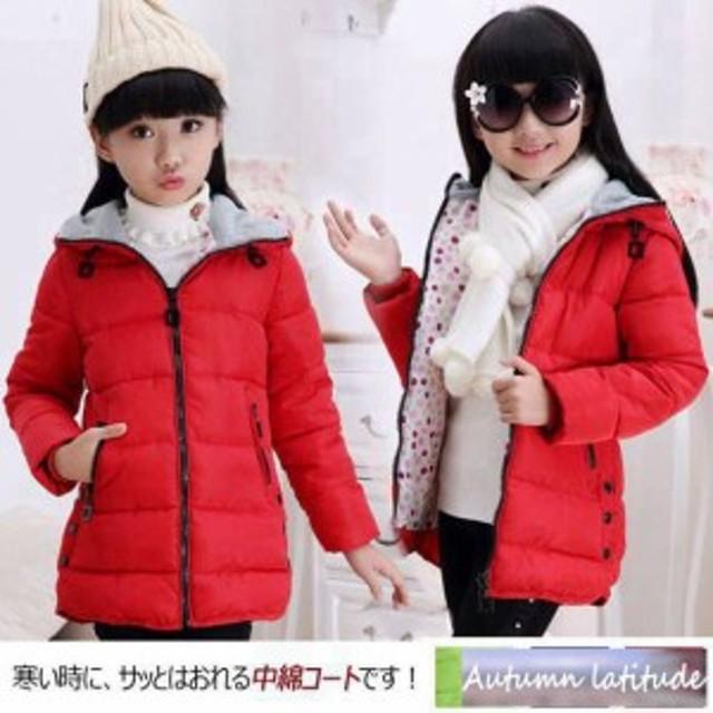 cf48cf0b1a6e5 子供服 女の子 子供コート中綿コート 秋冬中綿コート子供コート 女の子服 アウター 中綿