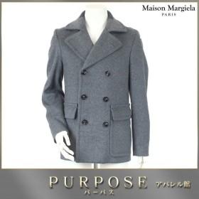 マルタン マルジェラ Martin Margiela 14 Pコート グレー サイズ 44 メンズ