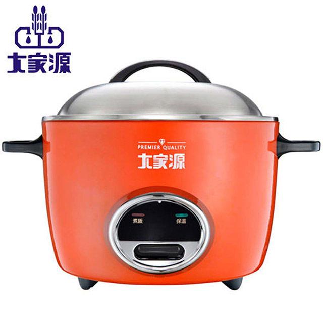 【大家源】304紅色不鏽鋼電鍋六人份 TCY-3226