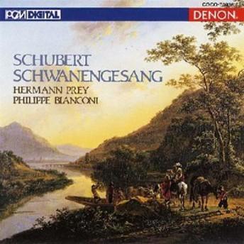 【CD国内】 Schubert シューベルト / 歌曲集『白鳥の歌』 プライ(Br)、ビアンコーニ(p)