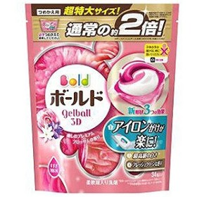 P&G 癒しのプレミアムブロッサムの香り つめかえ用 超特大サイズ (34個) 〔衣類用洗剤〕