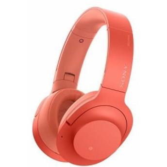 ソニー SONY ワイヤレスノイズキャンセリングヘッドホン h.ear on 2 Wireless 色: トワイライトレッド