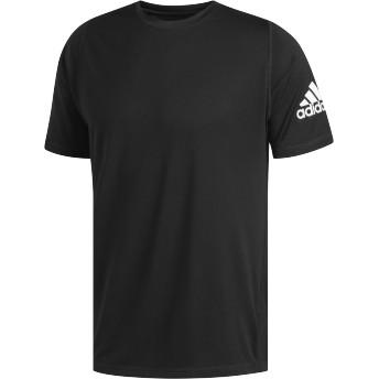 adidas men's M4T STRONG ストライプグラフィックTシャツ ランニング・トレーニングウェア,ブラック