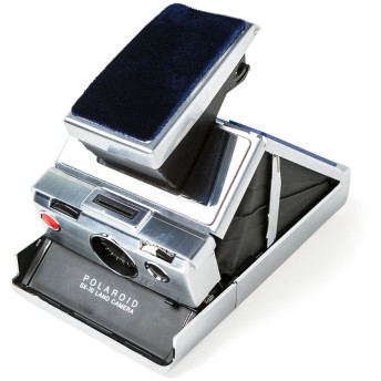 ポラロイドカメラ SX-70 SACAI EDITION BLUE