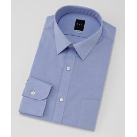 【SALE(伊勢丹)】<ビージーアール> ショートレギュラーサックスブロードドレスシャツ(3047421817) ブルー 【三越・伊勢丹/公式】
