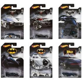ホットウィール エンターテイメントテーマ Batman 80th Anniversary Assort BOX販売(10個入り)【オンライン限定】【送料無料】