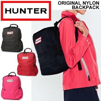 リュックサック デイパック ハンター HUNTER ORIGINAL NYLON BACKPACK ナイロン カジュアル 鞄 シンプル おしゃれ A4対応 ユニセックス 正規品/UBB5028KBM