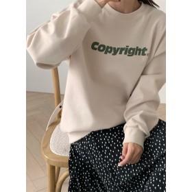Copyrightスウェット・全4色・52553