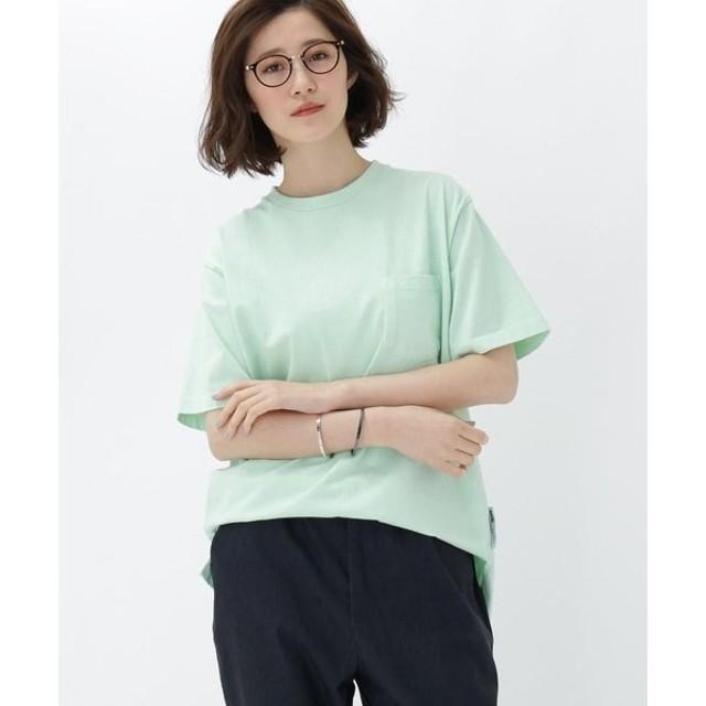 BASE STATION / ベースステーション 製品染めクルーネックTシャツ