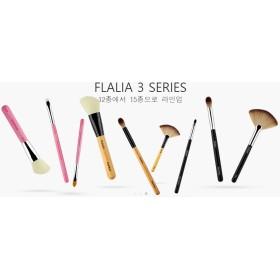 FLALIA 高級 メイクブラシ メイクアップブラシ ベーシック5本セット (Made in Korea)