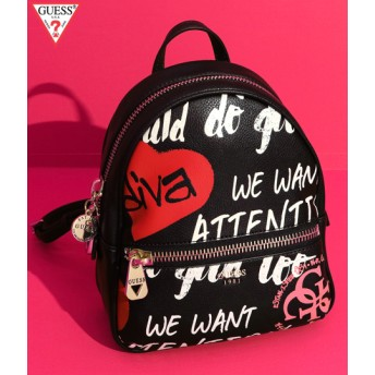 【セール開催中】ANAP(アナップ)GUESS URBAN CHIC GRAFFITI BACKPACK