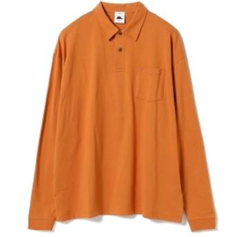 Guru's Cut & Stand BEAMS T 別注 Long Sleeve Poloshirt メンズ