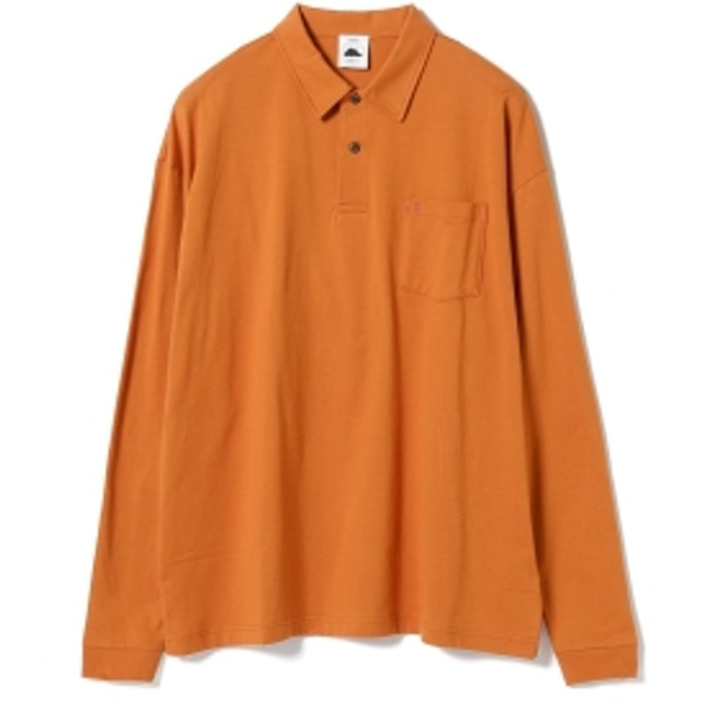 Guru's Cut & Stand BEAMS T 別注 Long Sleeve Poloshirt メンズ
