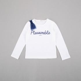 [マルイ]【セール】天竺肩リボンTシャツ/スラップスリップ(SLAP SLIP)