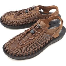 限定モデル KEEN キーン ユニーク レザー サンダル 靴 メンズ UNEEK LEATHER MNS Bison/Black 1017199
