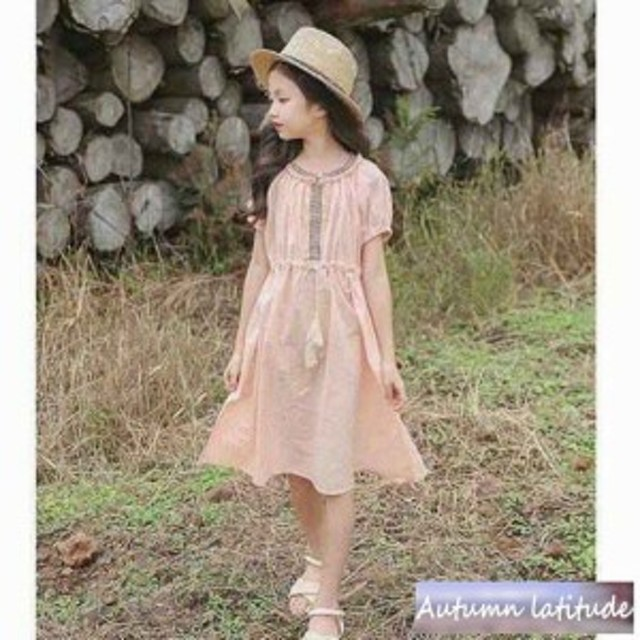 4b5f651497e3f 子供服 女の子 ワンピースドレス シフォン キッズ マキシ丈 超可愛い ワンピース 韓国 子供ワンピース おしゃれ
