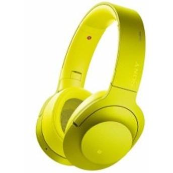 ソニー SONY ワイヤレスノイズキャンセリングヘッドホン h.ear on Wireless 色: ライムイエロー