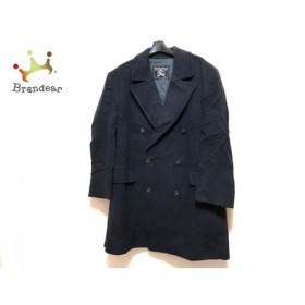 バーバリーズ Burberry's コート サイズL メンズ ダークネイビー ネーム刺繍/冬物     スペシャル特価 20190917【人気】