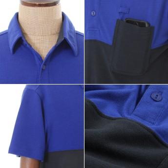 ポロシャツ - SPUTNICKS 【ポロシャツ】トレンドバイカラーを大人めに着こなす。キレイめポロシャツ! 男性 メンズ some might sayサムマイトセイ【春先行】