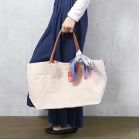 トートバッグ - CITRINE Chakra リボンスカーフ付きビッグトートバッグ◆バッグ スカーフ トートバッグ キャンパスバッグ BAG 鞄 B4対応 小物 2019SS新作