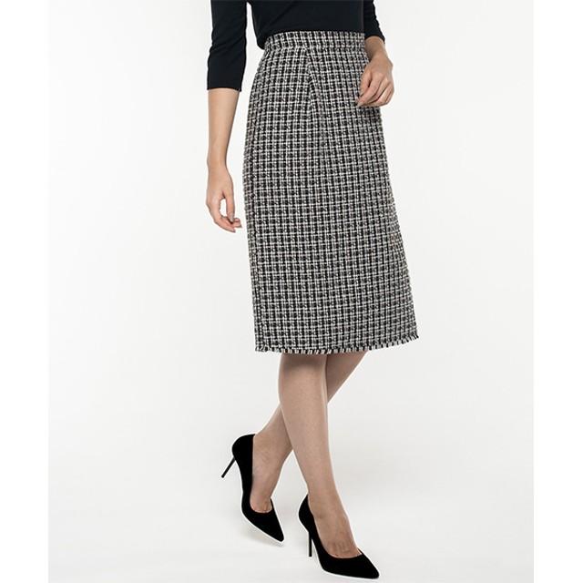 cc68318d1bbf6 タイトスカート - GIRL スカート ひざ丈 ロング チェック 大きいサイズ ハイウエスト タイト ミモレ丈