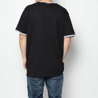 Tシャツ - GUESS【MEN】 [GUESS] TRIPLE TRIANGLE LOGO TEE