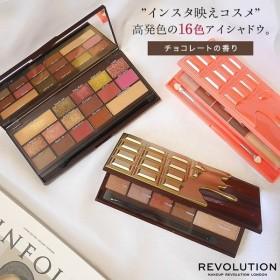 化粧品 MakeupRevolution メイクアップレボリューション 16色入アイシャドウパレット アイラブチョコレート コスメ Y220
