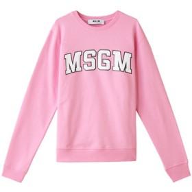 SALE 【50%OFF】 MSGM エムエスジーエム カレッジロゴスウェット ピンク