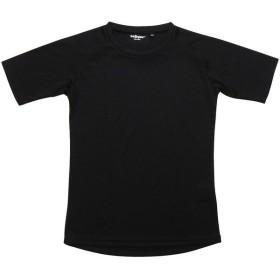 s.a.gear(エスエーギア)野球 ジュニア半袖アンダーシャツ 半袖丸首ベーシックアンダーシャツ ジュニア SA-Y18-001-017 ボーイズ ブラック
