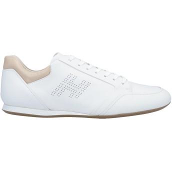 《セール開催中》HOGAN メンズ スニーカー&テニスシューズ(ローカット) ホワイト 10 革