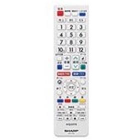 シャープ 液晶テレビ用 リモコン<ホワイト系>(LC-24K30-W LC-22K30-W LC-19K30-W) 0106380483 【メール便対応】
