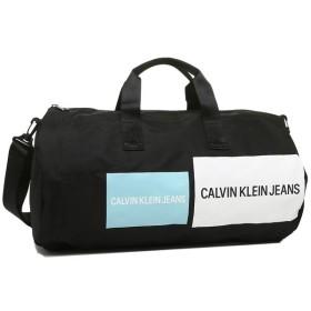【送料無料】カルバンクライン バッグ アウトレット CALVIN KLEIN 46301668 400 CK JEANS SPORT ESSENTIALS LOGO BARREL DUFFLE BAG メンズ レディース ボストンバッグ 無地 ブラックマルチ 黒