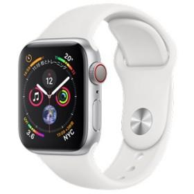 Apple Watch Series 4 GPS+Cellularモデル 40mm MTVA2J/A [ホワイトスポーツバンド]