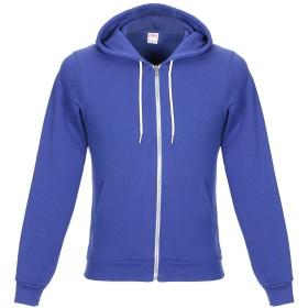《期間限定 セール開催中》AMERICAN APPAREL メンズ スウェットシャツ ブライトブルー XS コットン 50% / ポリエステル 50%