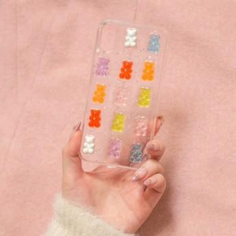 くまのグミ風ケース iPhoneXR iPhone XS MAX XR X 8 8Plus 7 7Plus 6sPlus 6s スマホケース iphoneケース 携帯ケース