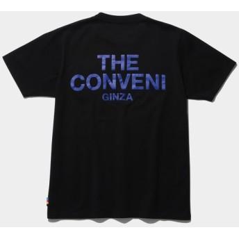 ザ・コンビニ/THE CONVENI POCKET TEE/ブラック/L