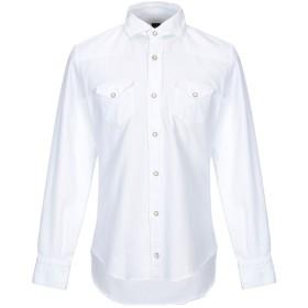 《期間限定 セール開催中》ELEVENTY メンズ シャツ ホワイト 41 コットン 100%