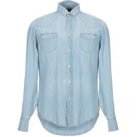 《期間限定セール開催中!》MELTIN POT メンズ デニムシャツ ブルー S コットン 100%