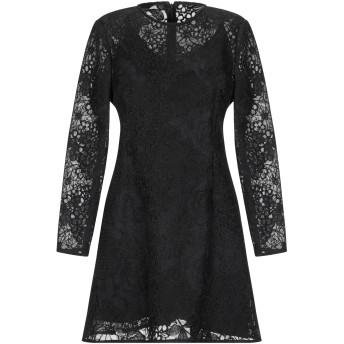 《セール開催中》RUBENDELLARICCIA レディース ミニワンピース&ドレス ブラック 42 ポリエステル 100%