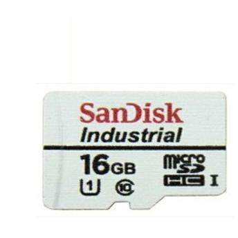 メール便送料無料 サンディスク ドライブレコーダー用 高耐久 microSDHCカード 16GB Class10 UHS-I Industrial SDSDQAF3-016G-I バルク品