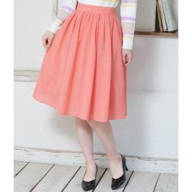 ひざ丈スカート - ROPE' PICNIC 【着丈が選べる】タックベルトサップギャザースカート