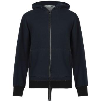 《期間限定セール開催中!》BULK メンズ スウェットシャツ ダークブルー M コットン 100%