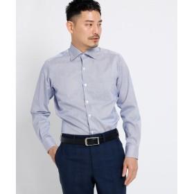 TAKEO KIKUCHI / タケオキクチ ツイルロンドンストライプシャツ[ メンズ シャツ ビジネス ストライプ ]