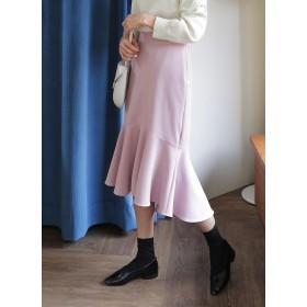 ロングマーメイドスカート・全3色・b52634